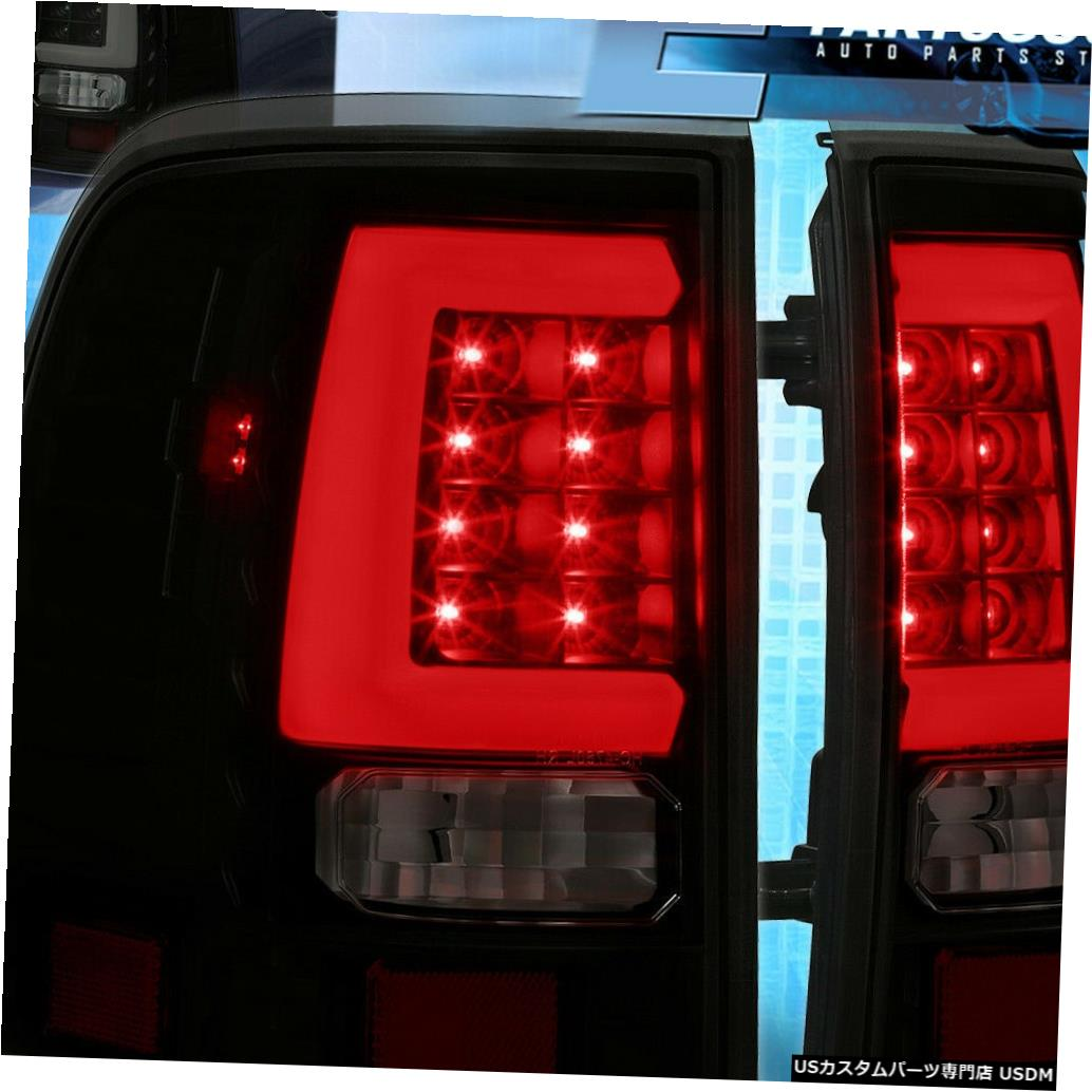 テールライト 2002 2003 2004 2005 Ford Explorer Led Tubeのスモーク/ブラックテールライトランプ Smoke/Black Tail Lights Lamps For 2002 2003 2004 2005 Ford Explorer Led Tube