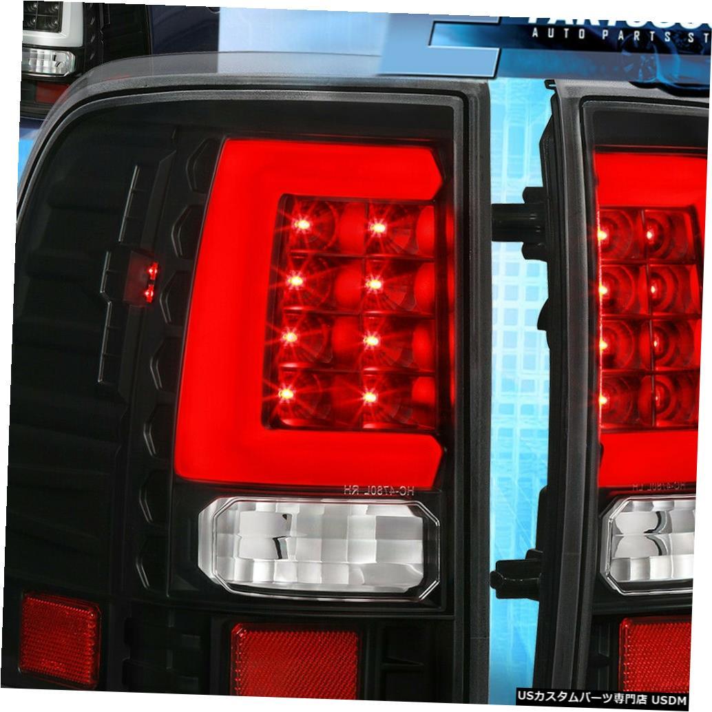 テールライト ブラックテールライトブレーキランプ2002 2003 2004 2005フォードエクスプローラーホワイトLedチューブ Black Tail Lights Brake Lamps 2002 2003 2004 2005 Ford Explorer White Led Tube