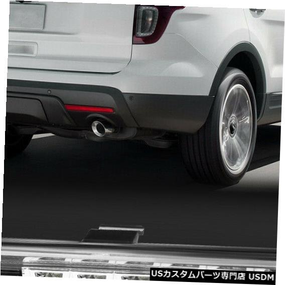 テールライト 2011-2015フォードエクスプローラーに適合[クローム/クリア] LED 3番目3番目のブレーキライトテールランプ Fits 2011-2015 Ford Explorer [Chrome/Clear] LED Third 3rd Brake Light Tail Lamp