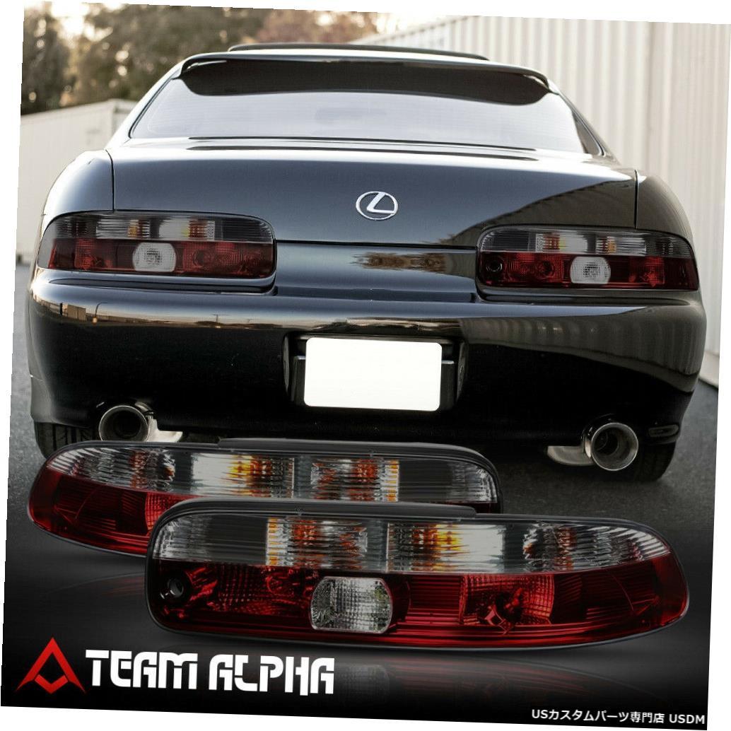テールライト Fits 1992-2000 Lexus SC300/SC400 <EURO ALTEZZA> Red/Smoke Brake Lamp Tail Light