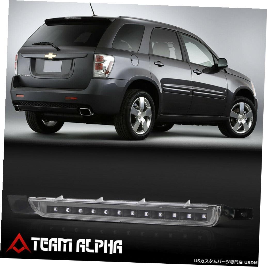 テールライト 2007?2009年のEquinox / Torrent [Black / Clear]に適合LED 3番目の3番目のブレーキライトテールランプ Fits 2007-2009 Equinox/Torrent [Black/Clear] LED Third 3rd Brake Light Tail Lamp