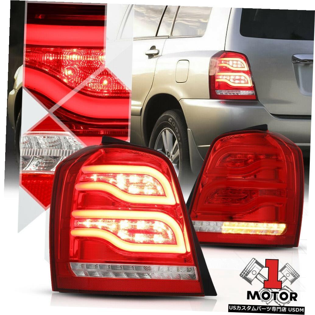 <title>車用品 バイク用品 >> パーツ ライト ランプ ブレーキ テールランプ テールライト レッド クリア お気に入 TRON LED BAR 01-07ハイランダー用3Dネオンチューブテールライトブレーキランプ Red Clear 3D Neon Tube Tail Light Brake Lamp for 01-07 Highlander</title>