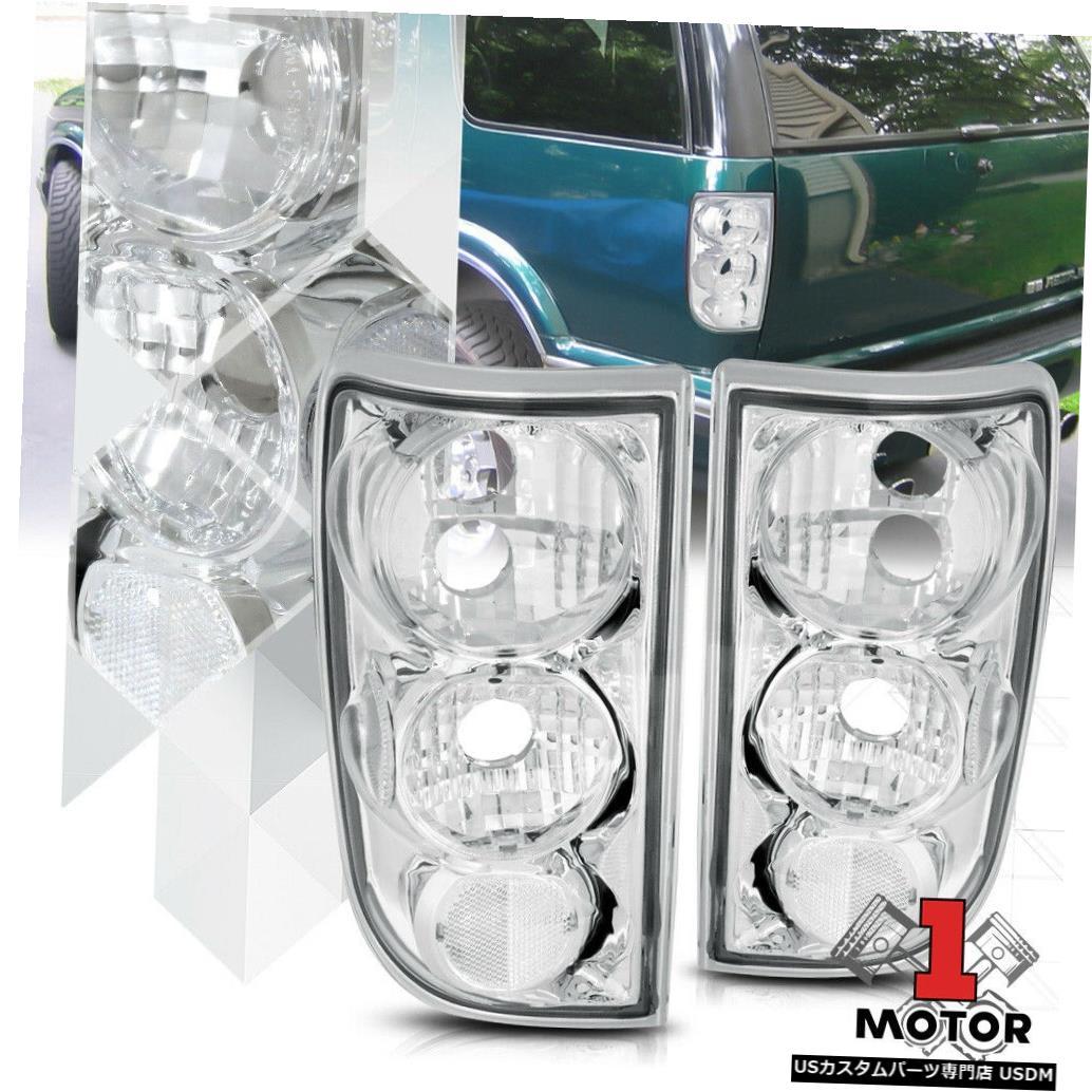 テールライト クロム/クリア* EURO ALTEZZA * 95-05ブレザー/ジミー/ブラバダ用テールライトブレーキランプ Chrome/Clear *EURO ALTEZZA* Tail Light Brake Lamp for 95-05 Blazer/Jimmy/Bravada
