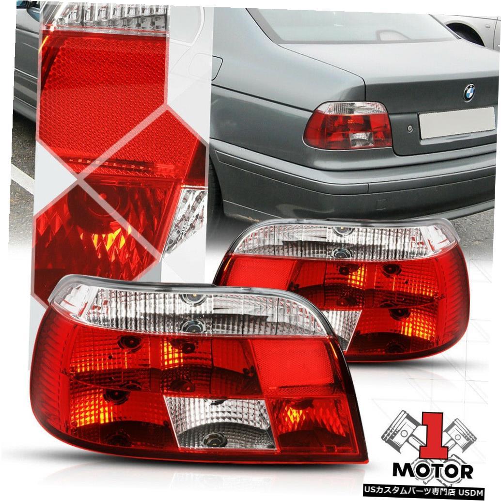テールライト レッド/クリア* EURO ALTEZZA * 97-00 BMW E39 5シリーズ用テールライトリアブレーキランプ Red/Clear *EURO ALTEZZA* Tail Light Rear Brake Lamp for 97-00 BMW E39 5-Series