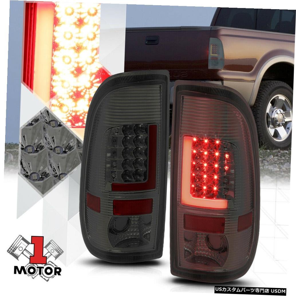 テールライト クローム/スモーク* TRON LED BAR * 08-16 Super Duty F550用3D Red-Lネオンテールライト Chrome/Smoked *TRON LED BAR* 3D Red-L Neon Tail Light for 08-16 Super Duty F550