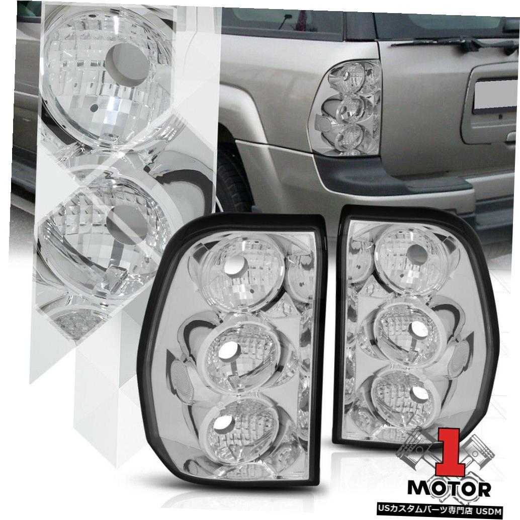 テールライト クローム/クリア* EURO ALTEZZA * 02-09 Chevy Trailblazer用テールライトブレーキランプ Chrome/Clear *EURO ALTEZZA* Tail Light Brake Lamp for 02-09 Chevy Trailblazer