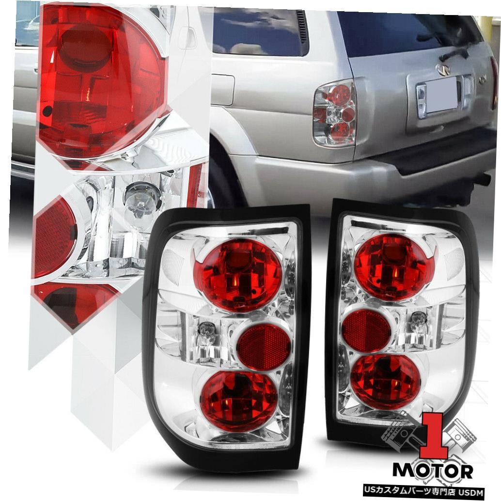 テールライト 96-04パスファインダー97-03 XQ4用レッド/クリア* EURO ALTEZZA *テールライトリアブレーキランプ Red/Clear*EURO ALTEZZA*Tail Light Rear Brake Lamp for 96-04 Pathfinder 97-03 XQ4