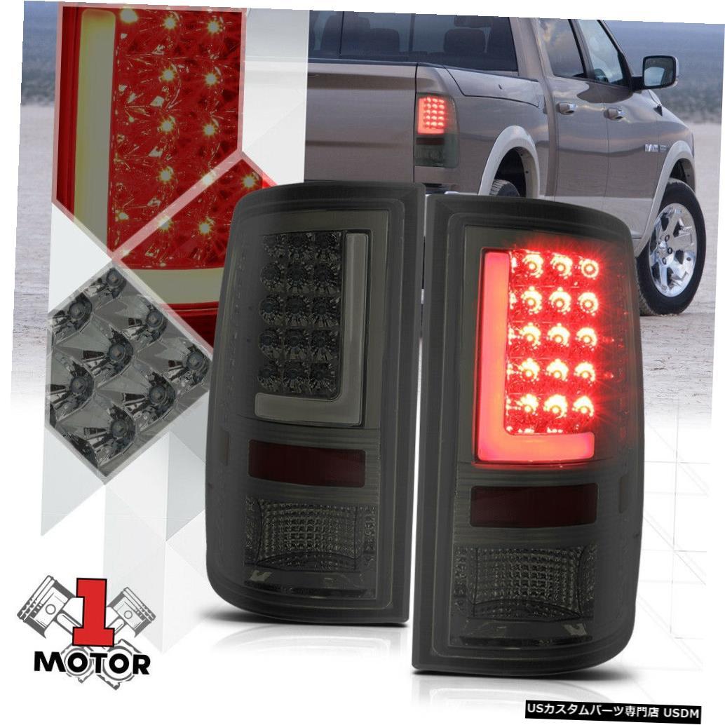 テールライト クロム/スモーク* TRON LED BAR * 09-17 Ram用3D Red-Lネオンテールライトブレーキランプ Chrome/Smoked *TRON LED BAR* 3D Red-L Neon Tail Light Brake Lamp for 09-17 Ram