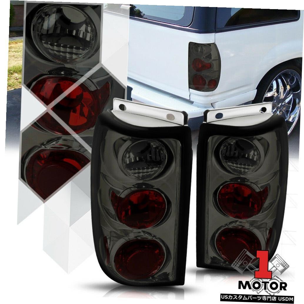 テールライト クロム/煙* EURO ALTEZZA * 95-97 Ford Explorer用テールライトリアブレーキランプ Chrome/Smoke *EURO ALTEZZA* Tail Light Rear Brake Lamp for 95-97 Ford Explorer