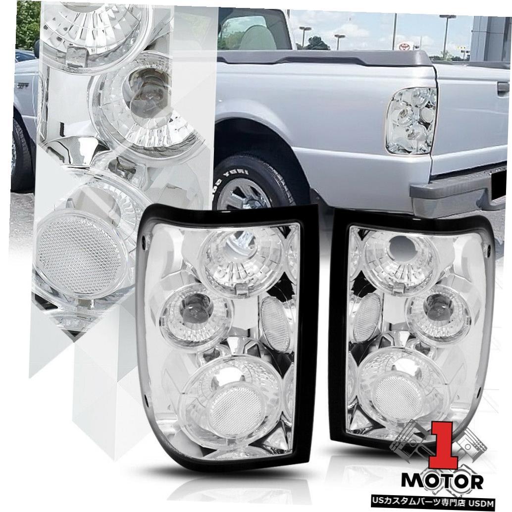 テールライト クロームハウジングクリアレンズ* EURO ALTEZZA * 01-11レンジャー用テールライトブレーキランプ Chrome Housing Clear Lens *EURO ALTEZZA* Tail Light Brake Lamp for 01-11 Ranger