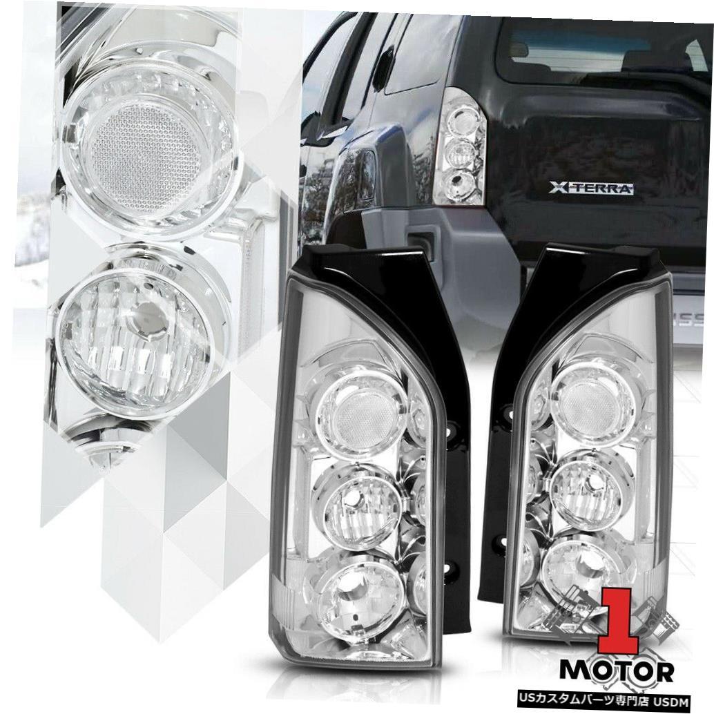 テールライト クロームハウジングクリアレンズ* EURO ALTEZZA * 05-15 Xterra用テールライトブレーキランプ Chrome Housing Clear Lens *EURO ALTEZZA* Tail Light Brake Lamp for 05-15 Xterra