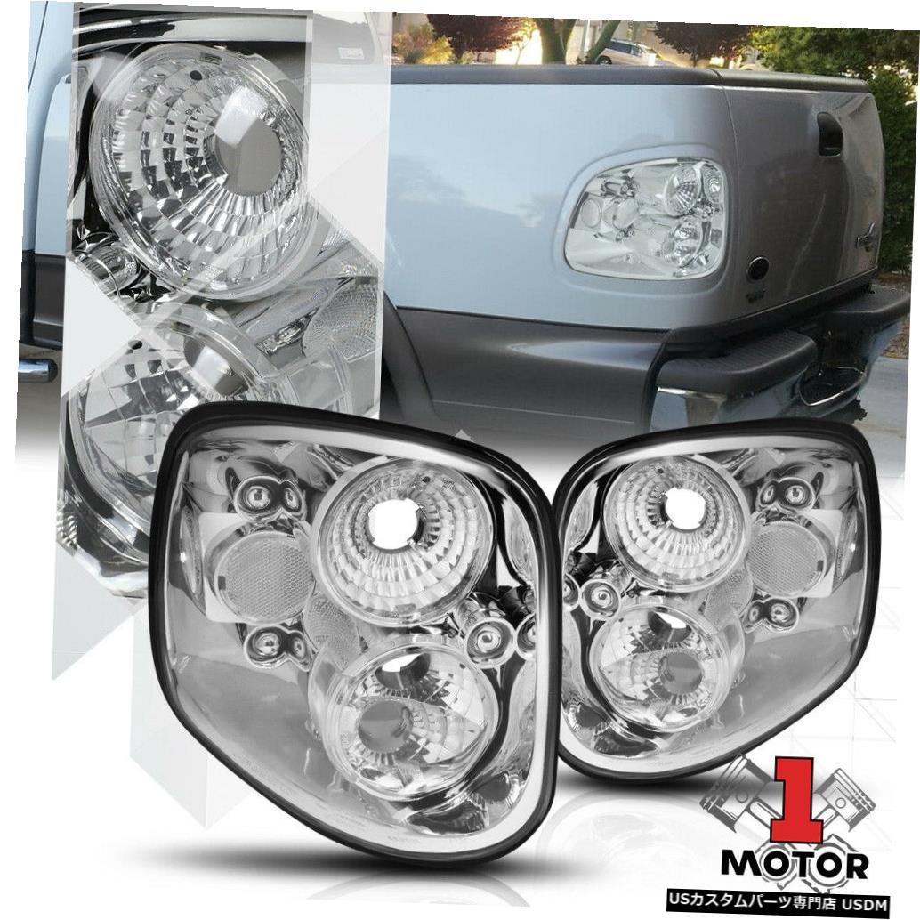 テールライト 97/00フォードF-150フレアサイド用クロム/クリア* EURO ALTEZZA *テールライトブレーキランプ Chrome/Clear *EURO ALTEZZA* Tail Light Brake Lamp for 97-00 Ford F-150 Flareside