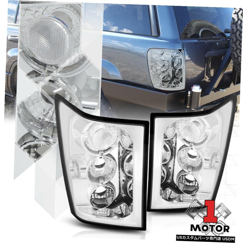 テールライト 05/06ジープグランドチェロキー用クローム/クリア* EURO ALTEZZA *テールライトブレーキランプ Chrome/Clear *EURO ALTEZZA* Tail Light Brake Lamp for 05-06 Jeep Grand Cherokee