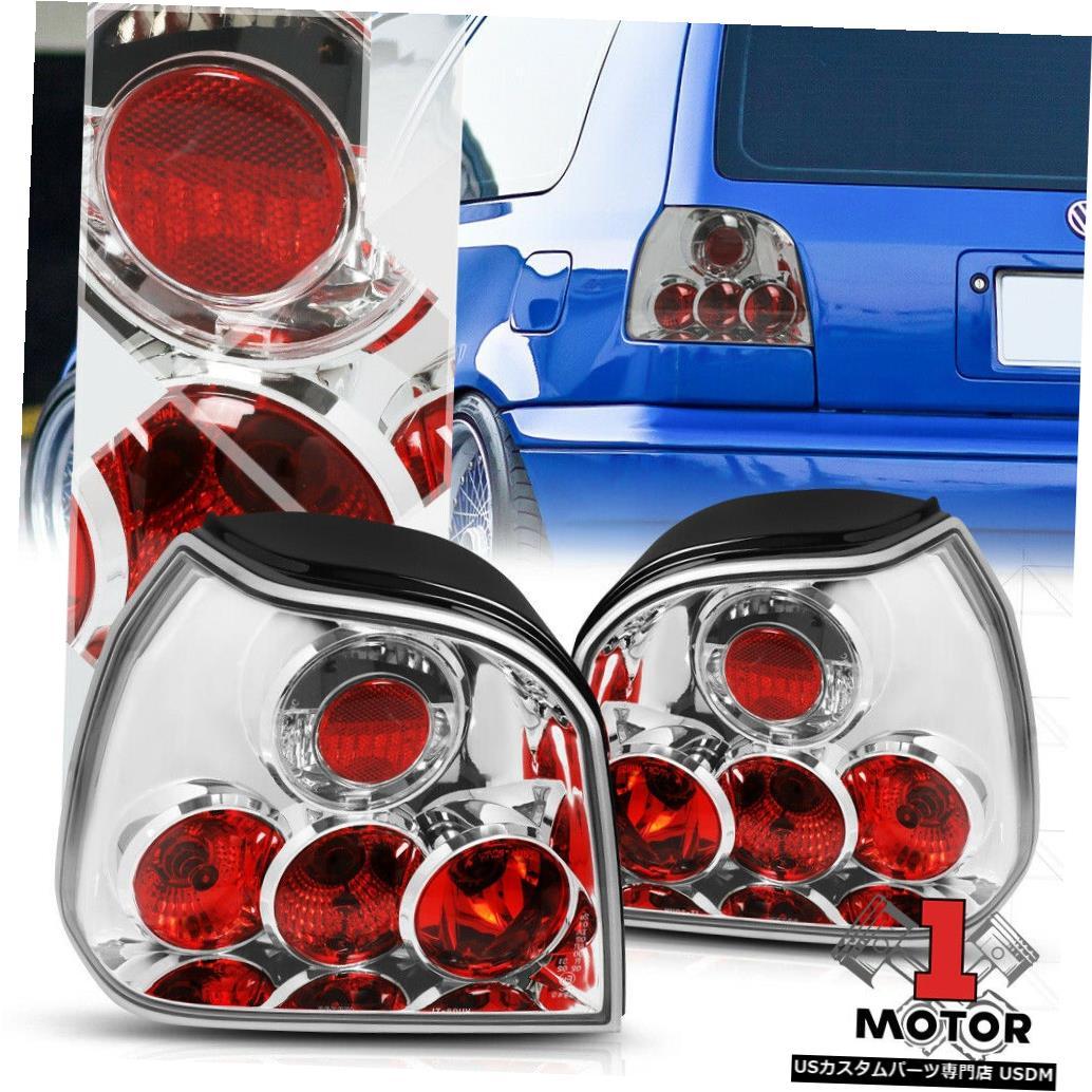 テールライト レッド/クリア* EURO ALTEZZA * 93-99 VWゴルフ/カブリオ用テールライトリバースブレーキランプ Red/Clear *EURO ALTEZZA* Tail Light Reverse Brake Lamp for 93-99 VW Golf/Cabrio