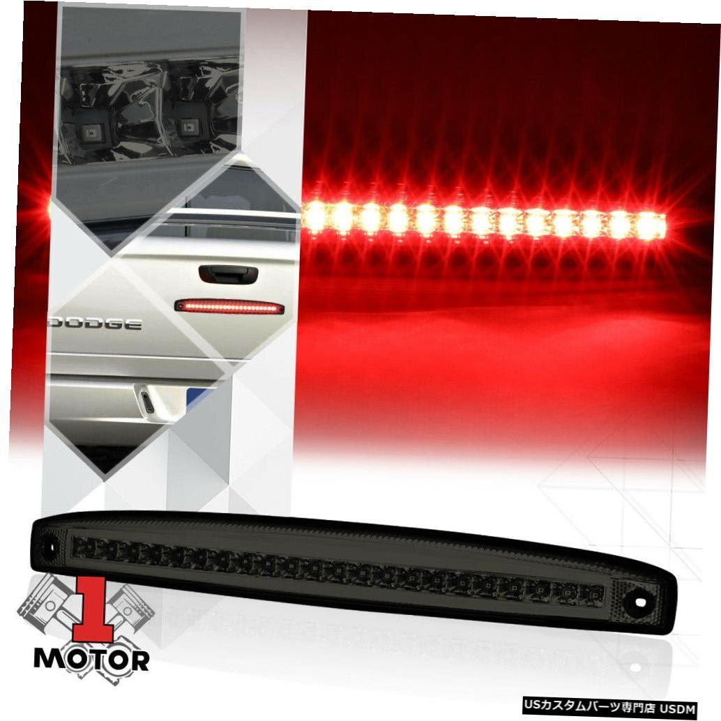 テールライト 03-06ダッジラム用クローム/スモークフルLEDリアテールゲートテールゲートブレーキライト Chrome/Smoke Full LED Rear Tailgate Tail Gate Brake Light for 03-06 Dodge Ram