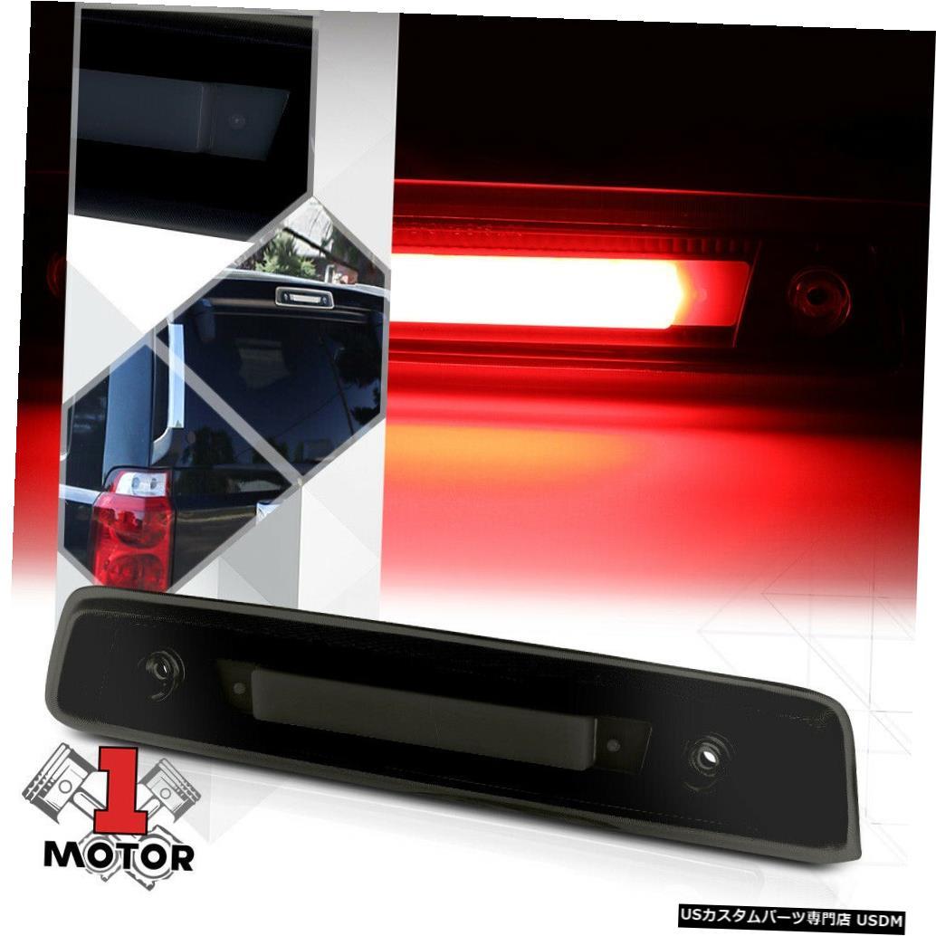 テールライト 06-10ジープコマンダー用ブラックハウジングスモークレンズ[LED BAR]第3ブレーキライト Black Housing Smoke Lens[LED BAR]Third 3rd Brake Light for 06-10 Jeep Commander