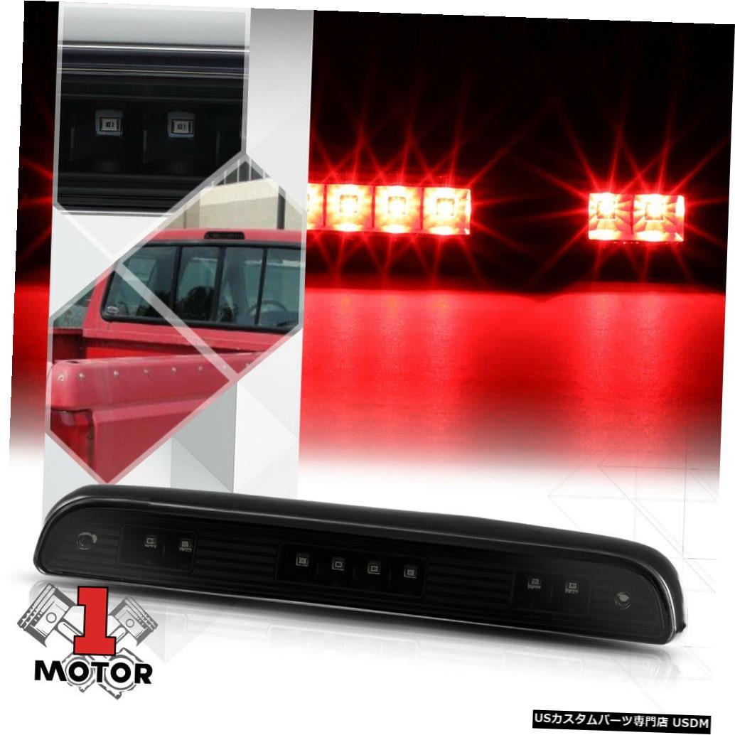 テールライト 92-96 F150 / F250 / Bronco用ブラックハウジングスモークレンズLED 3番目[3番目]ブレーキライト Black Housing Smoked Lens LED Third [3rd] Brake Light for 92-96 F150/F250/Bronco