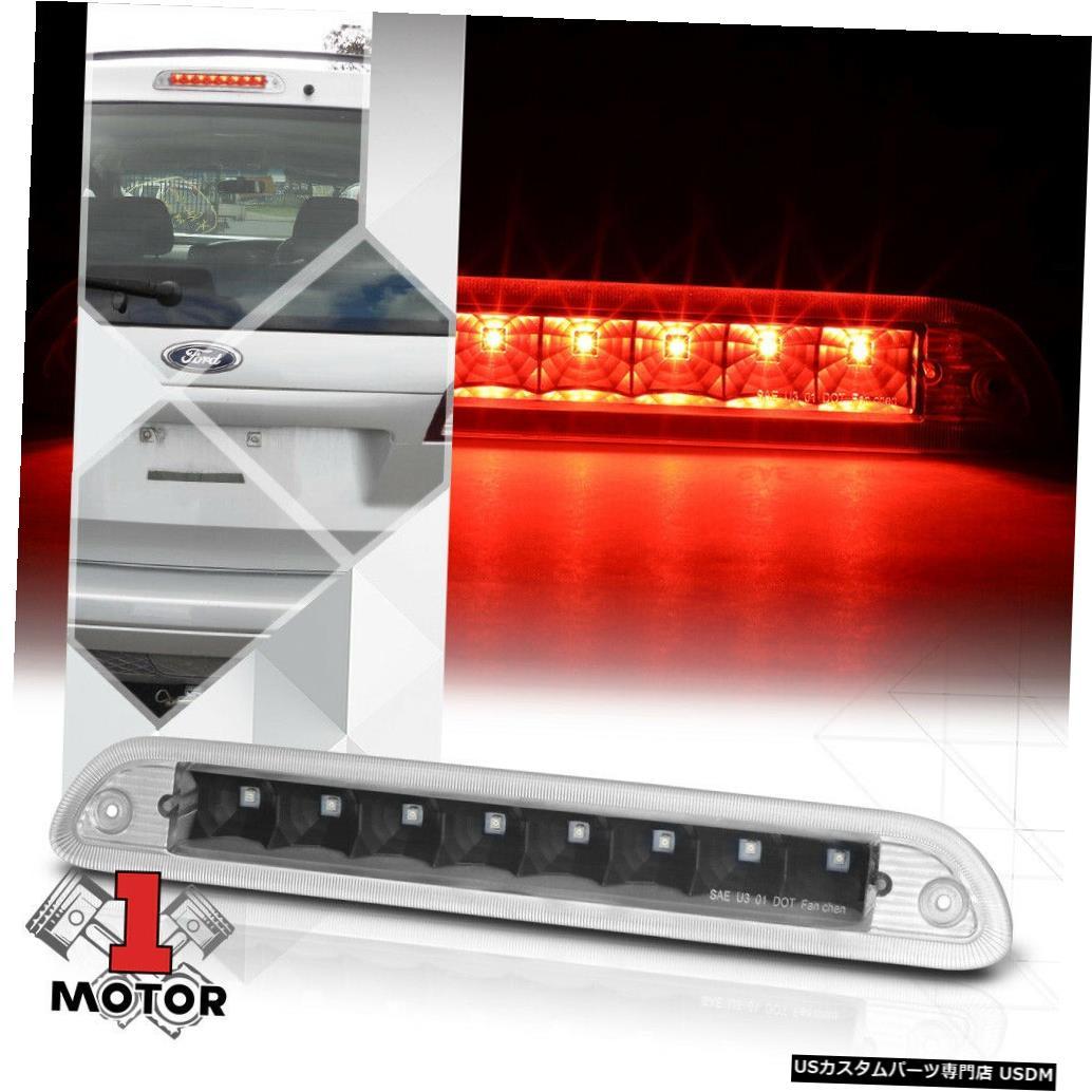 テールライト 01-07 Ford Escape / 05-07 Mariner用ブラック/クリアリアLED第3 [3]ブレーキライト Black/Clear Rear LED Third [3rd] Brake Light for 01-07 Ford Escape/05-07 Mariner