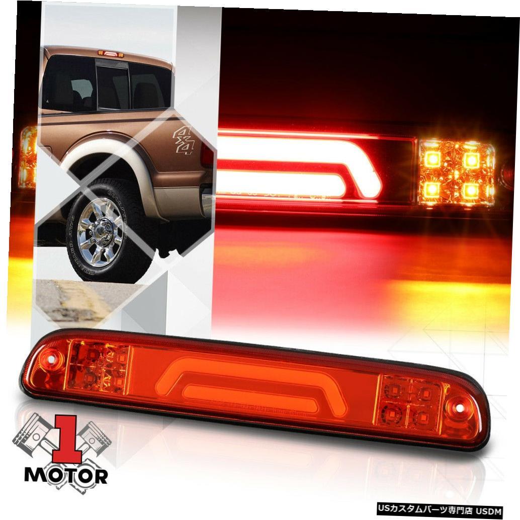 テールライト 93-16フォードレンジャー/ F250で機能する赤色LEDバー3番目[3番目]ブレーキライトカーゴ Red LED Bar Third [3rd] Brake Light Cargo Functioned for 93-16 Ford Ranger/F250