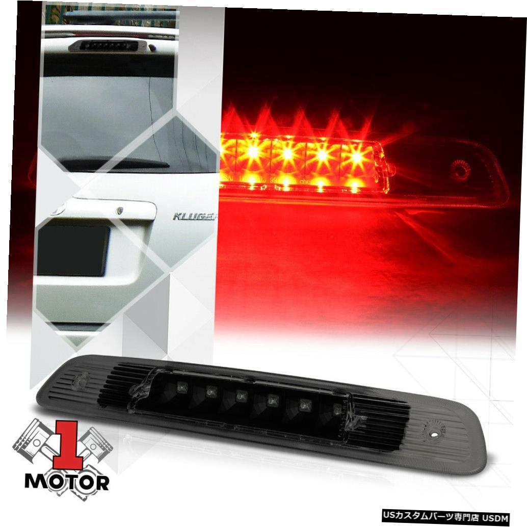 テールライト 01-03トヨタハイランダー用ブラック/スモークリアLED 3番目[3番目]ブレーキライトランプ Black/Smoke Rear LED Third [3rd] Brake Light Lamp for 01-03 Toyota Highlander