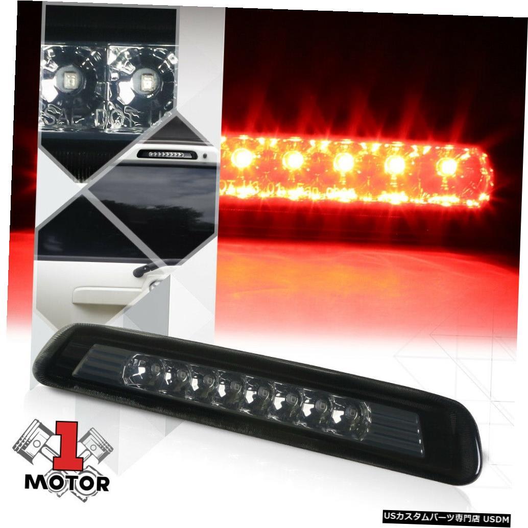テールライト 03-09トヨタ4ランナー用クロームハウジングスモークレンズLED第3 [第3]ブレーキライト Chrome Housing Smoke Lens LED Third [3rd] Brake Light for 03-09 Toyota 4Runner