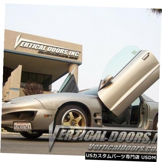 Vertical Doors 垂直ドア-ポンティアックファイヤーバード/トランスAM 1998-02用の垂直ランボドアキット Vertical Doors - Vertical Lambo Door Kit For Pontiac Firebird / Trans Am 1998-02