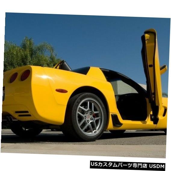 Vertical Doors シボレーコルベットC6 05-13ランボキット垂直ドア Chevy Corvette C6 05-13 Lambo Kit Vertical Doors
