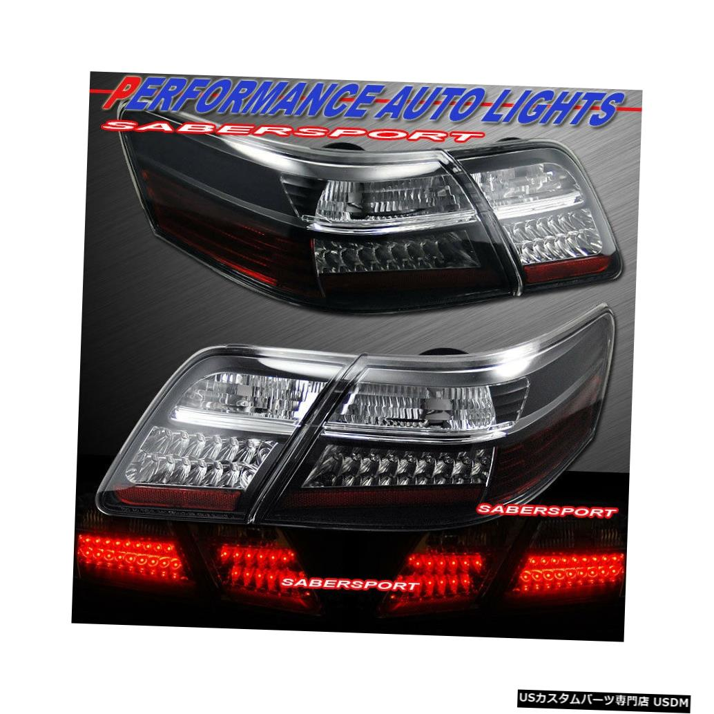 Tail light 2007-2009トヨタカムリ用4個入りブラックハウジングLEDテールライトセット Set of 4pcs Black Housing LED Taillights for 2007-2009 Toyota Camry
