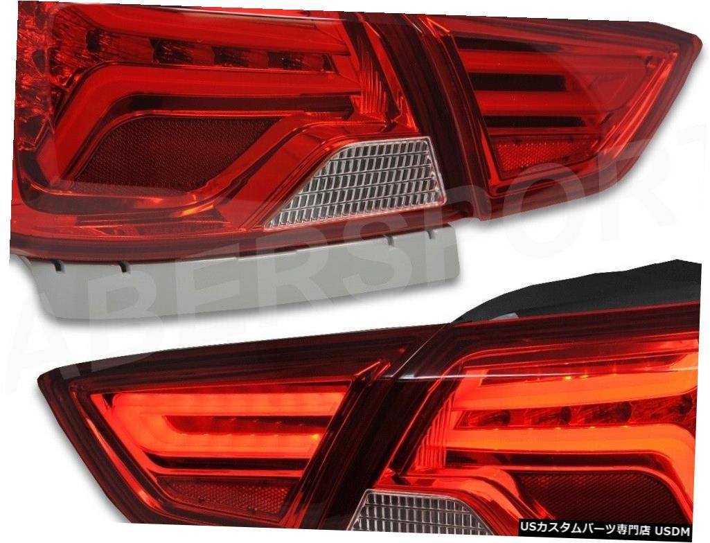 <title>車用品 バイク用品 >> パーツ ライト ランプ ブレーキ テールランプ Tail light 2014-2019シボレーインパラ用LEDチューブ付きペア赤レンズテールランプセット 爆安 Set of Pair Red Lens Taillights w LED Tube for 2014-2019 Chevrolet Impala</title>