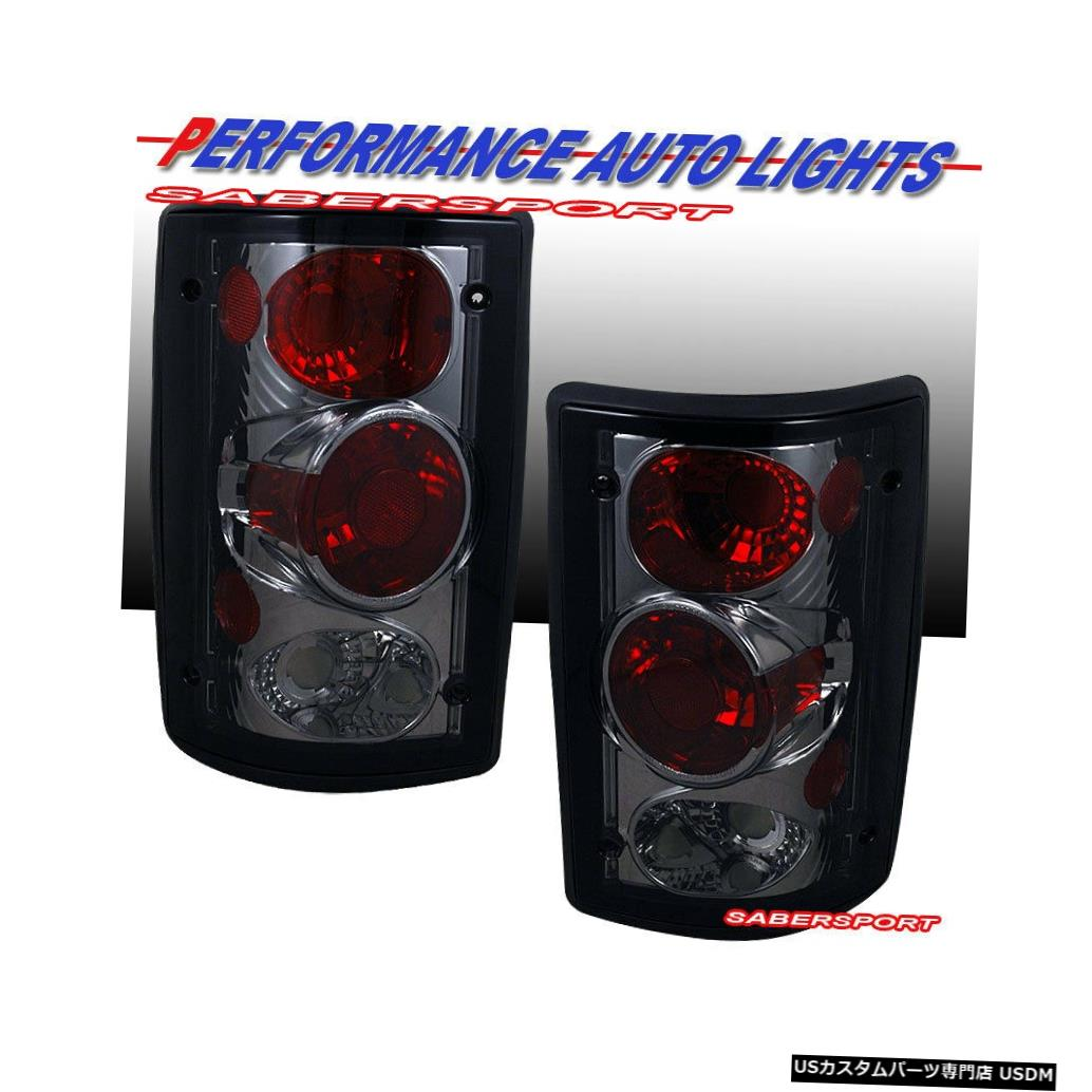 Tail light 1995-2006フォードエコノラインバンとエクスカーション用のペアのスモークテールランプセット Set of Pair Smoke Taillights for 1995-2006 Ford Econoline Van and Excursion