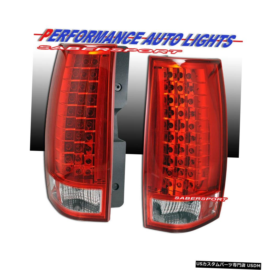 Tail light 2007-2014 Chevy Tahoe Suburban / GMC YukonのペアレッドLEDテールライトセット Set of Pair Red LED Taillights for 2007-2014 Chevy Tahoe Suburban / GMC Yukon