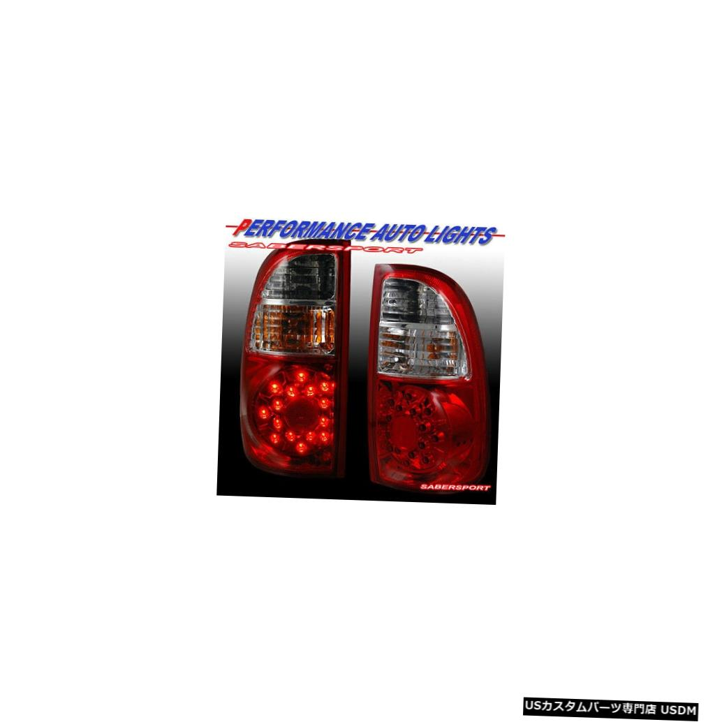 Tail light Set of Pair Red Clear LED Taillights for 2005-2006 Tundra Standard & Access Cab