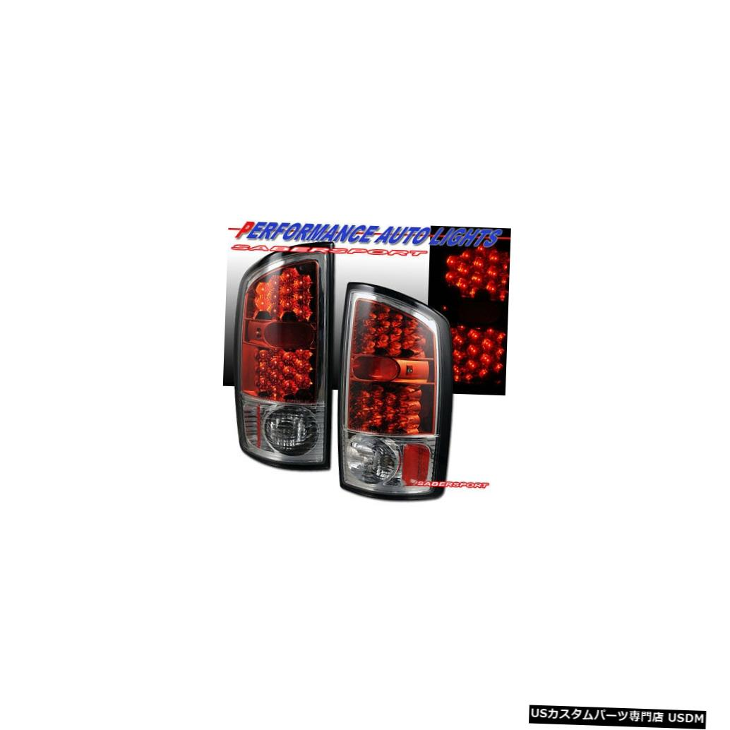 Tail light 2002-2005 Ram 1500 / 03-06 Ram 2500 3500のペアレッドLEDテールライトセット Set of Pair Red LED Taillights for 2002-2005 Ram 1500 / 03-06 Ram 2500 3500