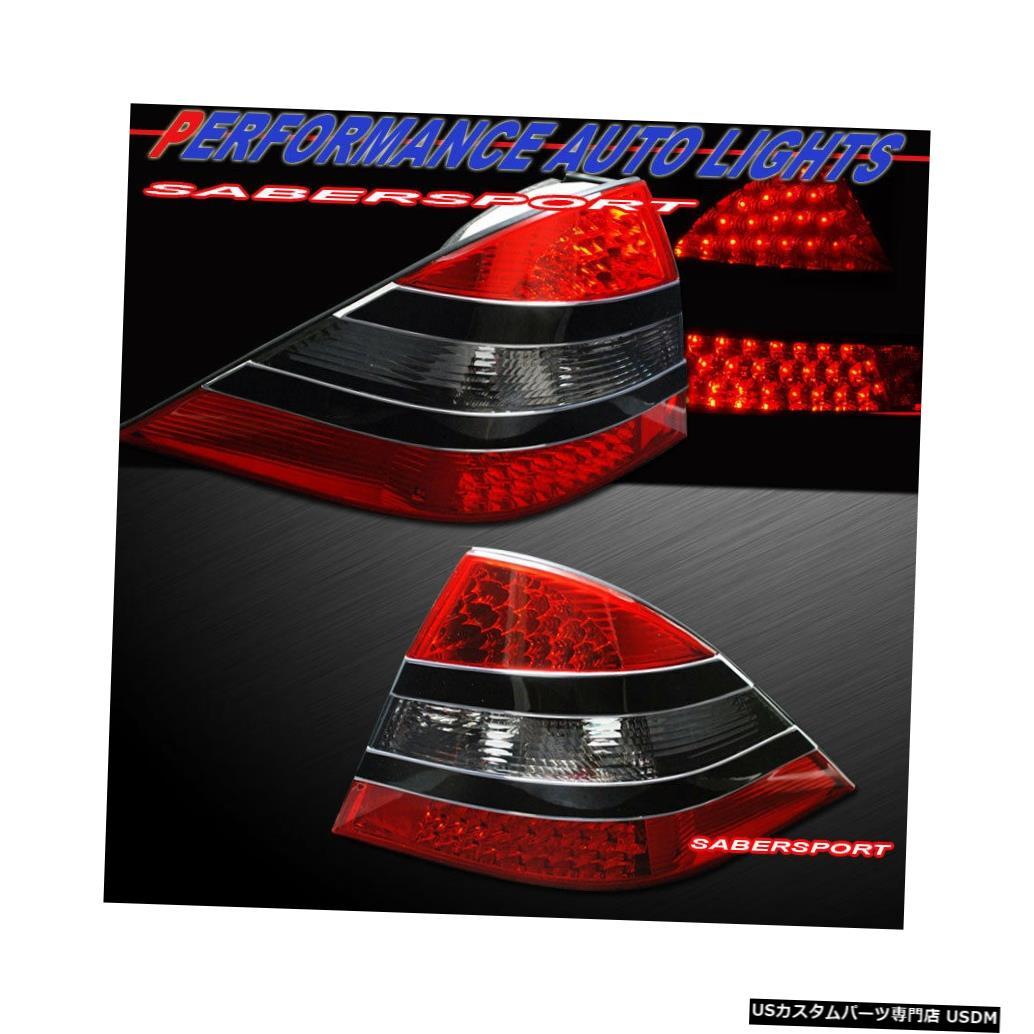 <title>車用品 バイク用品 >> パーツ ライト ランプ ブレーキ テールランプ Tail light 2000-2005メルセデスW220 Sクラスセダン用ペア赤スモークLEDテールライトのセット Set of Pair Red 待望 Smoke LED Taillights for 2000-2005 Mercedes W220 S-Class Sedan</title>
