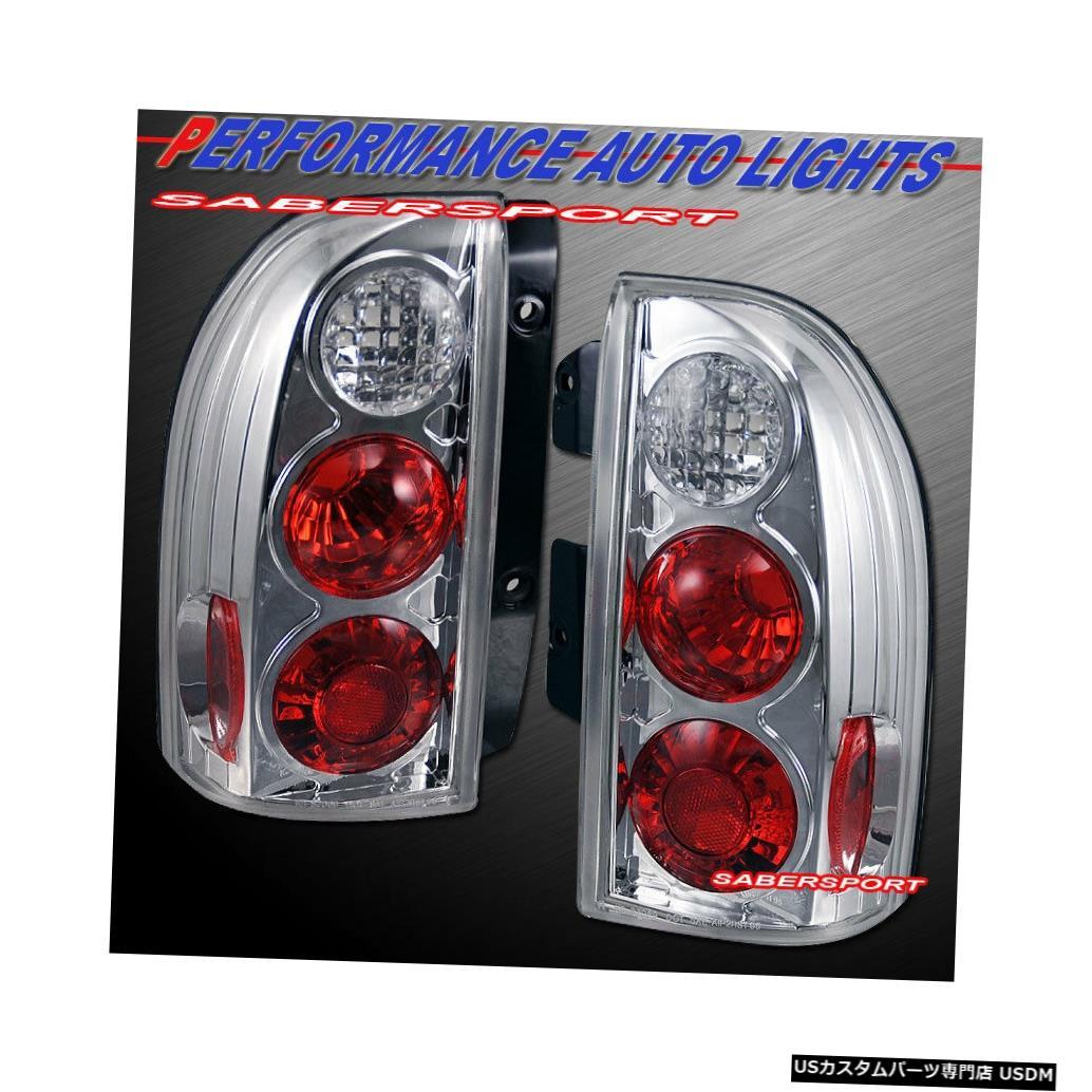 Tail light ペアクロームアルテッツァスタイルテールライトセット(1999-04スズキグランドビターラXL-7用) Set of Pair Chrome Altezza Style Taillights for 1999-04 Suzuki Grand Vitara XL-7