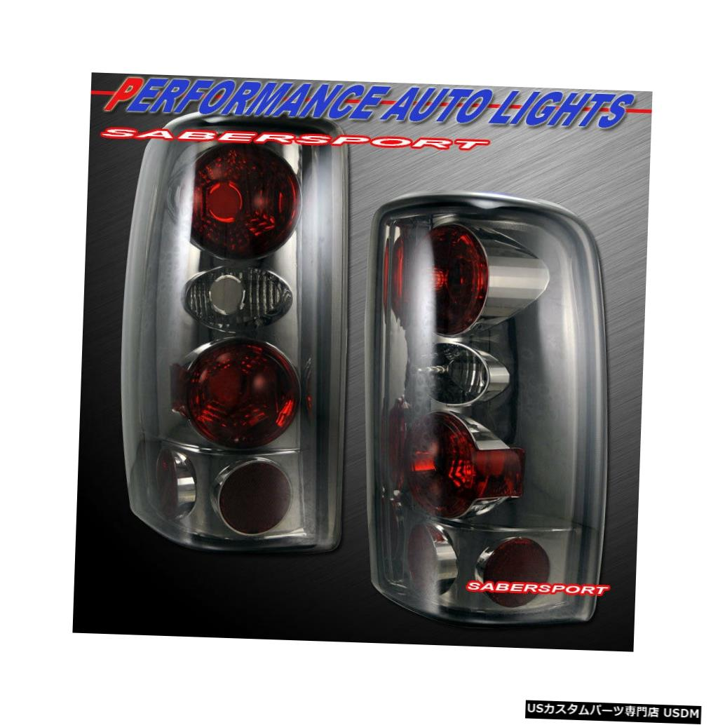 Tail light 2000-2006シェビータホサバーバン/ GMCユーコン用ペアスモークテールライトセット Set of Pair Smoke Taillights for 2000-2006 Chevy Tahoe Suburban / GMC Yukon