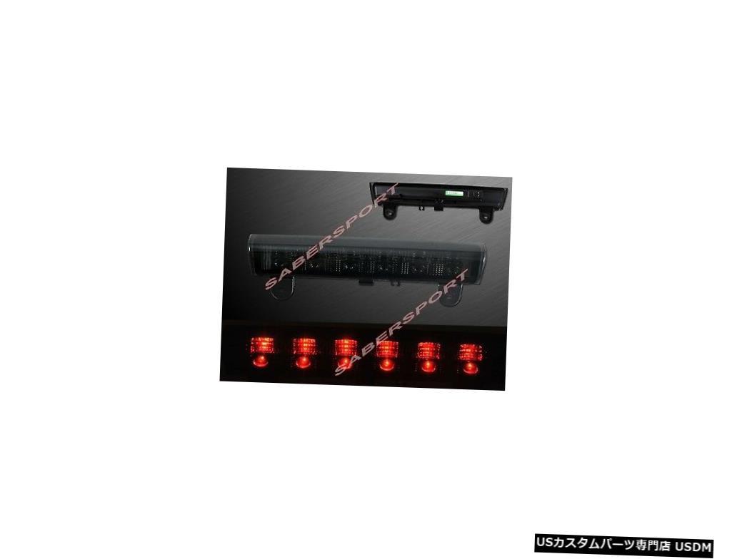 Tail light 2000-2006タホ郊外ユーコン用スモークレンズLED 3サードブレーキライトのセット Set of Smoke Lens LED 3rd Third Brake Light for 2000-2006 Tahoe Suburban Yukon
