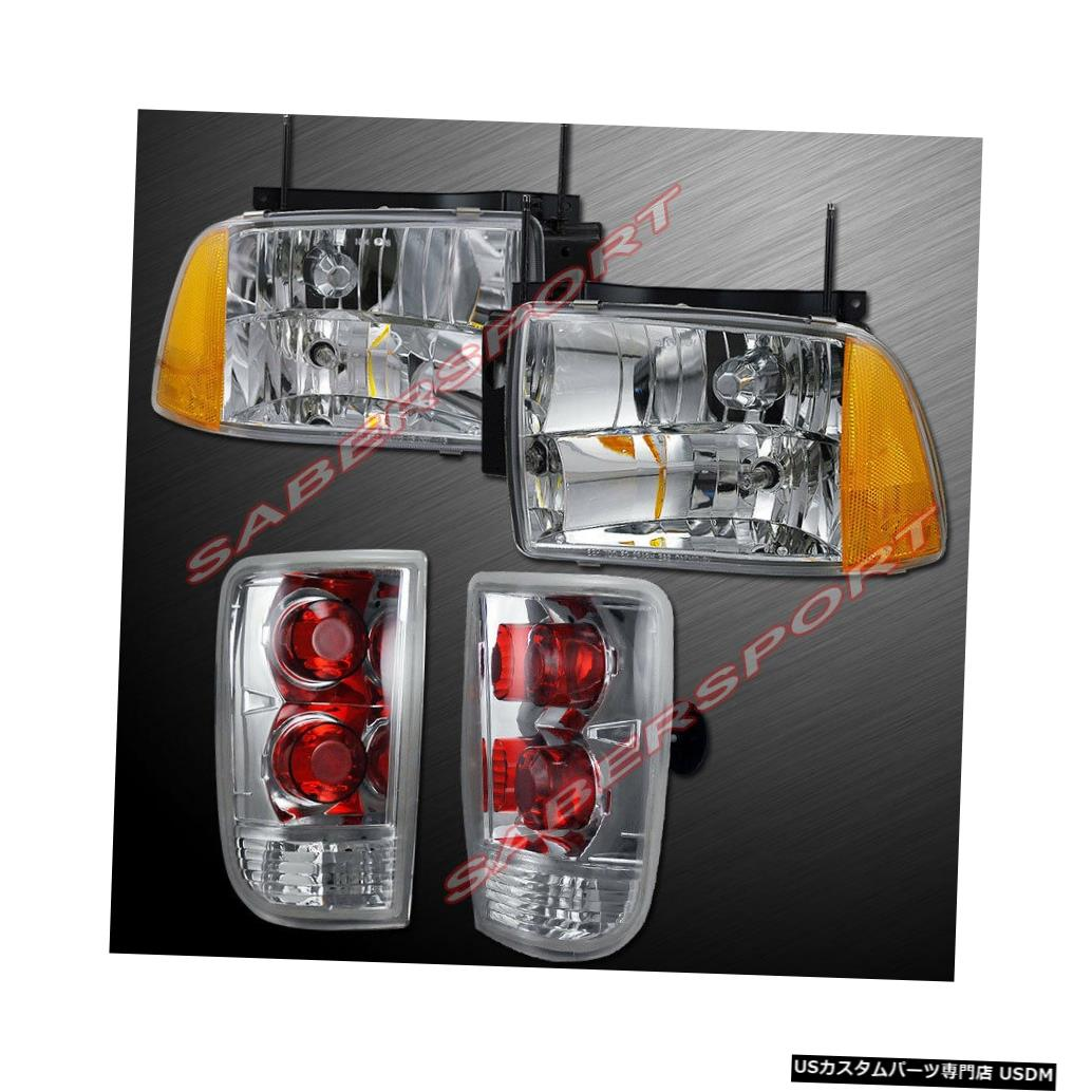 Tail light 1995-1997ブレザー用コンボセットユーロクリアコンポジットタイプヘッドライト+テールライト Combo set Euro Clear Composite Type Headlights + Taillights for 1995-1997 Blazer