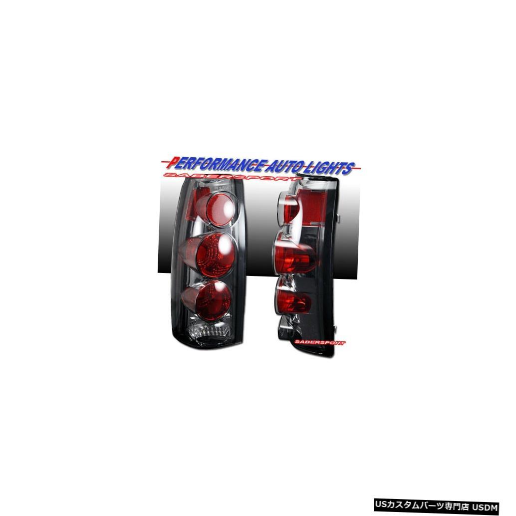 Tail light 88-99 GM C / K 1500 2500 3500ユーコンサバーバン用クロームスモークテールライトセット Set of Chrome Smoke Taillights for 88-99 GM C/K 1500 2500 3500 Yukon Suburban