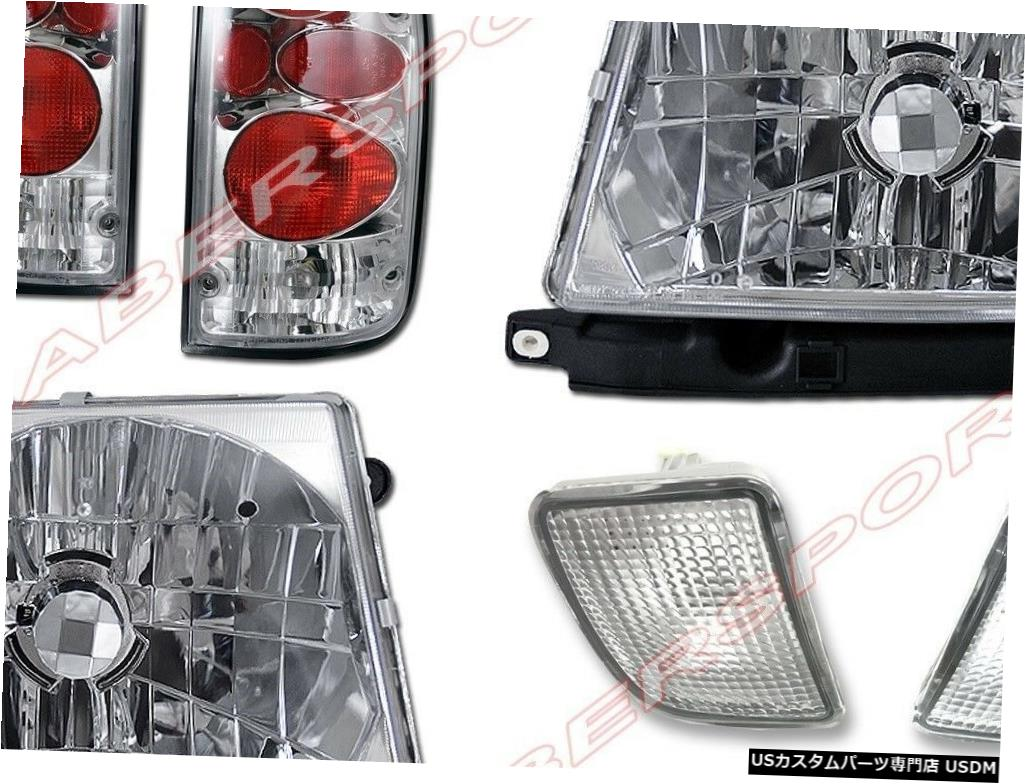 Tail light ヘッドライト+バンパーライト+テールライトのセット(98-00 Tacoma 4WD /プレランナー用) Set of Headlights + Bumper Lights + Taillights for 98-00 Tacoma 4WD / PreRunner