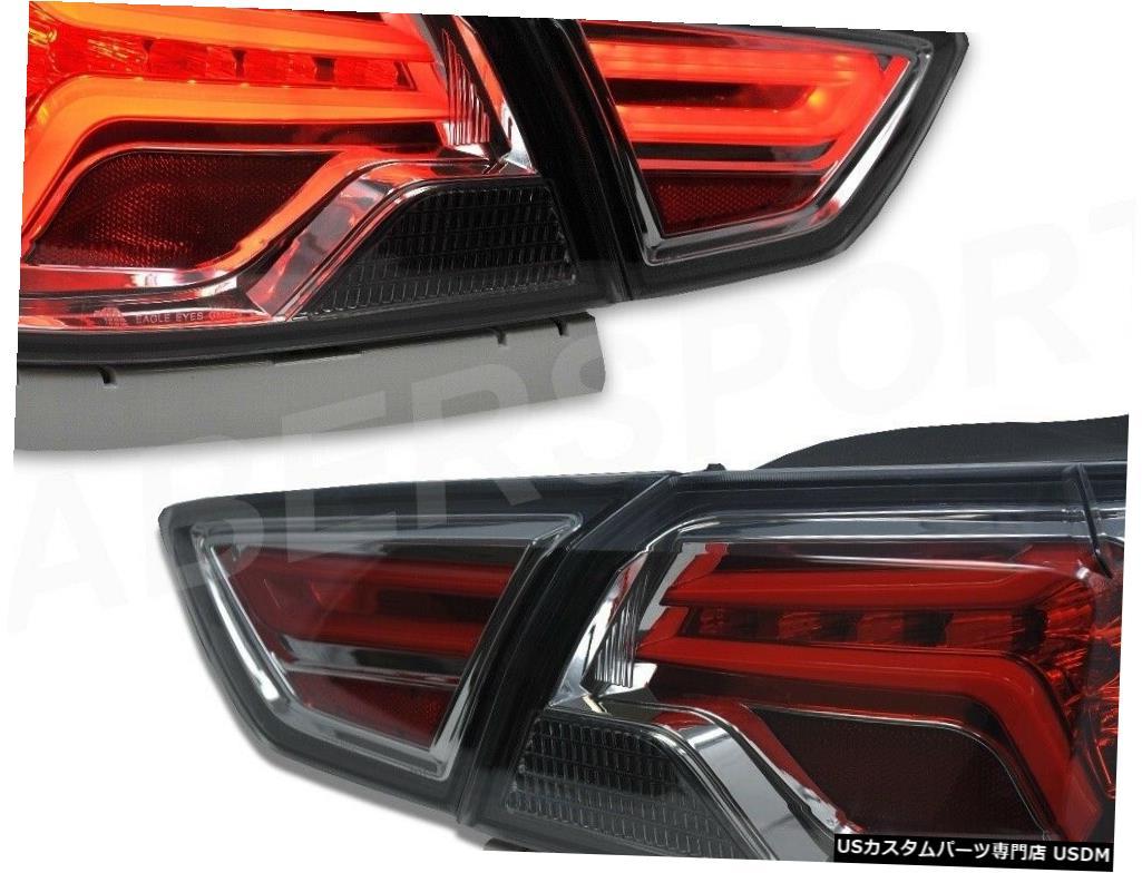 車用品 値引き バイク用品 >> パーツ 100%品質保証 ライト ランプ ブレーキ テールランプ Tail light 2014-2019シボレーインパラ用LEDチューブ付きペアスモークレンズテールランプセット Set Tube w Taillights of LED Lens for Smoke 2014-2019 Pair Chevrolet Impala