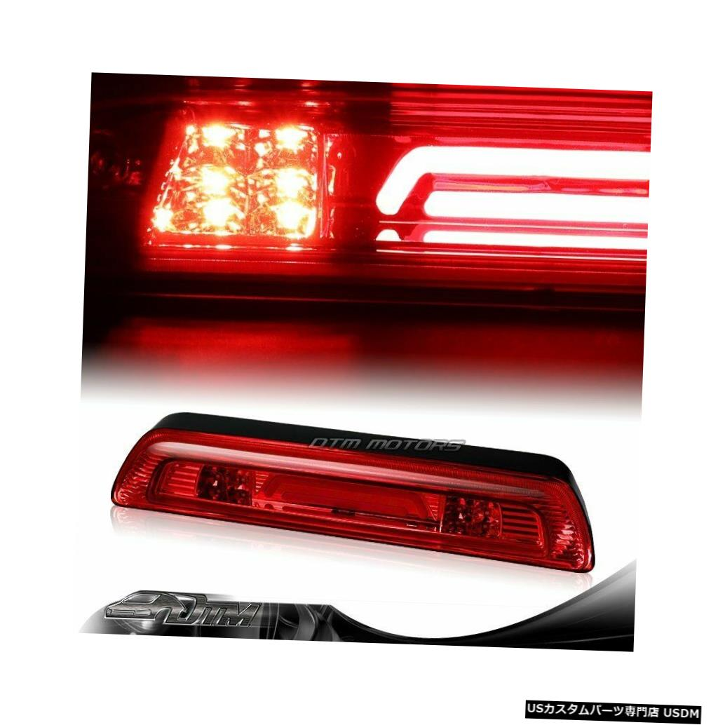Tail light 2007-2018トヨタタンドラレッドレンズLED BAR 3RDサードブレーキライトW /カーゴランプ用 For 2007-2018 Toyota Tundra Red Lens LED BAR 3RD Third Brake Light W/Cargo Lamp
