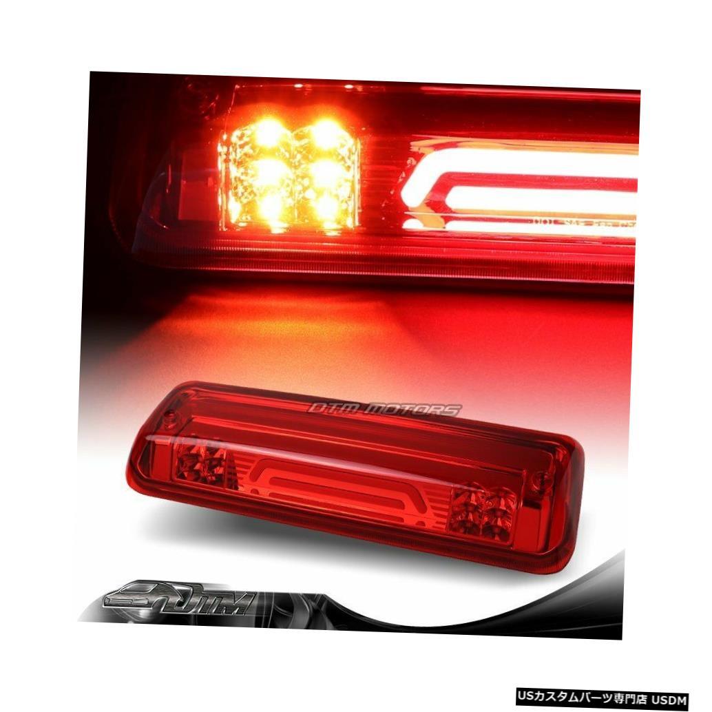 Tail light 04-08フォードF150レッドレンズLEDストリップ3RDサードブレーキストップライトカーゴランプ付き For 04-08 Ford F150 Red Lens LED Strip 3RD Third Brake Stop Light W/Cargo Lamp