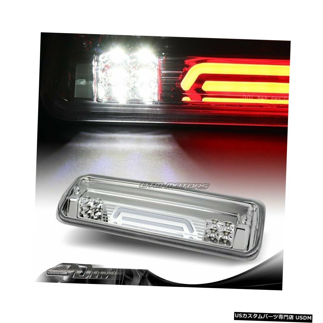 Tail light 04-08フォードF-150クロームLEDストリップ3RDサードブレーキストップライトカーゴランプ付き For 04-08 Ford F-150 Chrome LED Strip 3RD Third Brake Stop Light W/Cargo Lamp