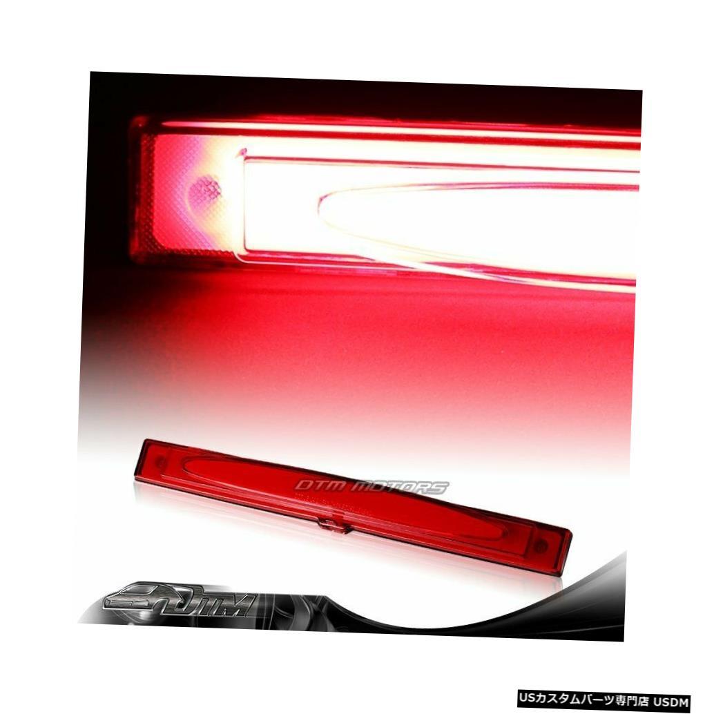 Tail light 2005-2013シボレーコルベットレッドレンズLEDストリップ3RDサードブレーキストップライトランプ For 2005-2013 Chevy Corvette Red Lens LED Strip 3RD Third Brake Stop Light Lamp