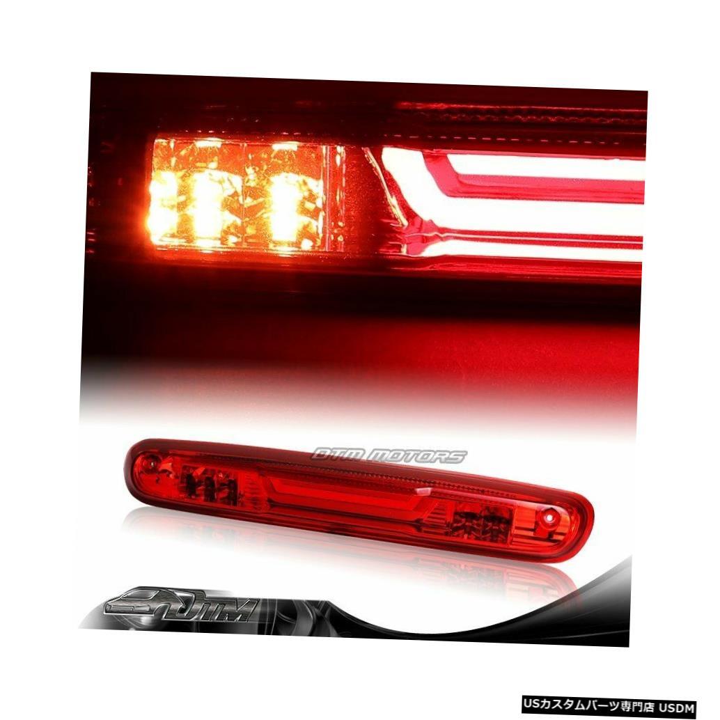 Tail light シェビー/シルバー/ GMC /シエラ1500レッドレンLED 3RDサードブレーキライト+カーゴランプ For Chevy/Silverado/GMC/Sierra 1500 Red Len LED 3RD Third Brake Light+Cargo Lamp