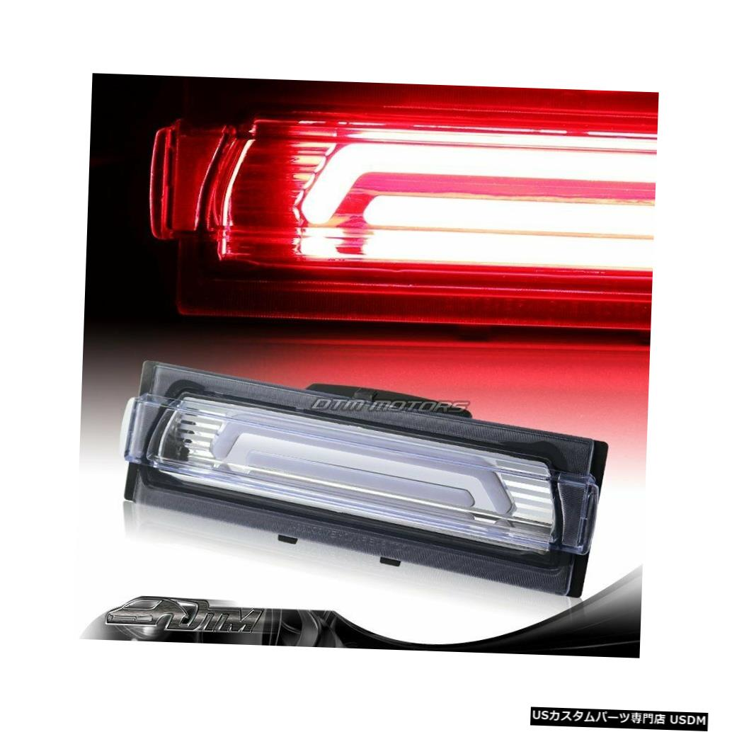 Tail light 91-96シボレーコルベットクロームクリアG2 LEDバー3RDサードブレーキストップライトランプ用 For 91-96 Chevy Corvette Chrome Clear G2 LED BAR 3RD Third Brake Stop Light Lamp