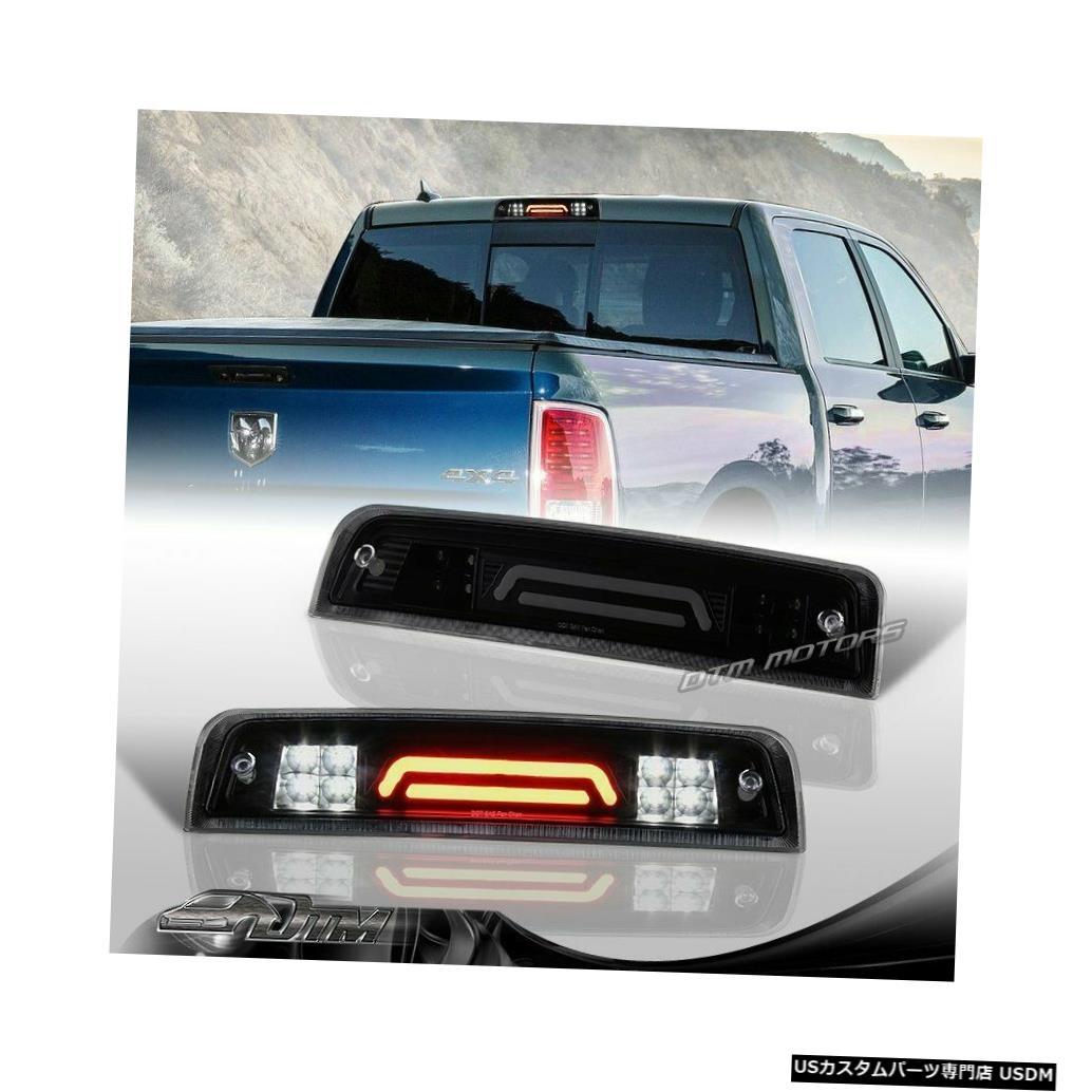 Tail light 11-17ラム1500 2500 3500ブラック/スモークLED 3RDサードブレーキライトW /カーゴランプ用 For 11-17 Ram 1500 2500 3500 Black/Smoke LED 3RD Third Brake Light W/Cargo Lamp