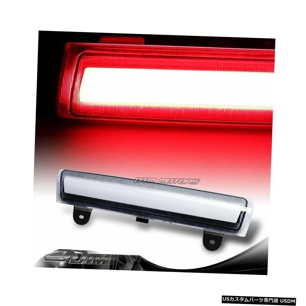 Tail light 2000-2006 GMCユーコンXL 1500 2500クリアレンズLEDストリップ3RDサードブレーキライト For 2000-2006 GMC Yukon XL 1500 2500 Clear Lens LED Strip 3RD Third Brake Light