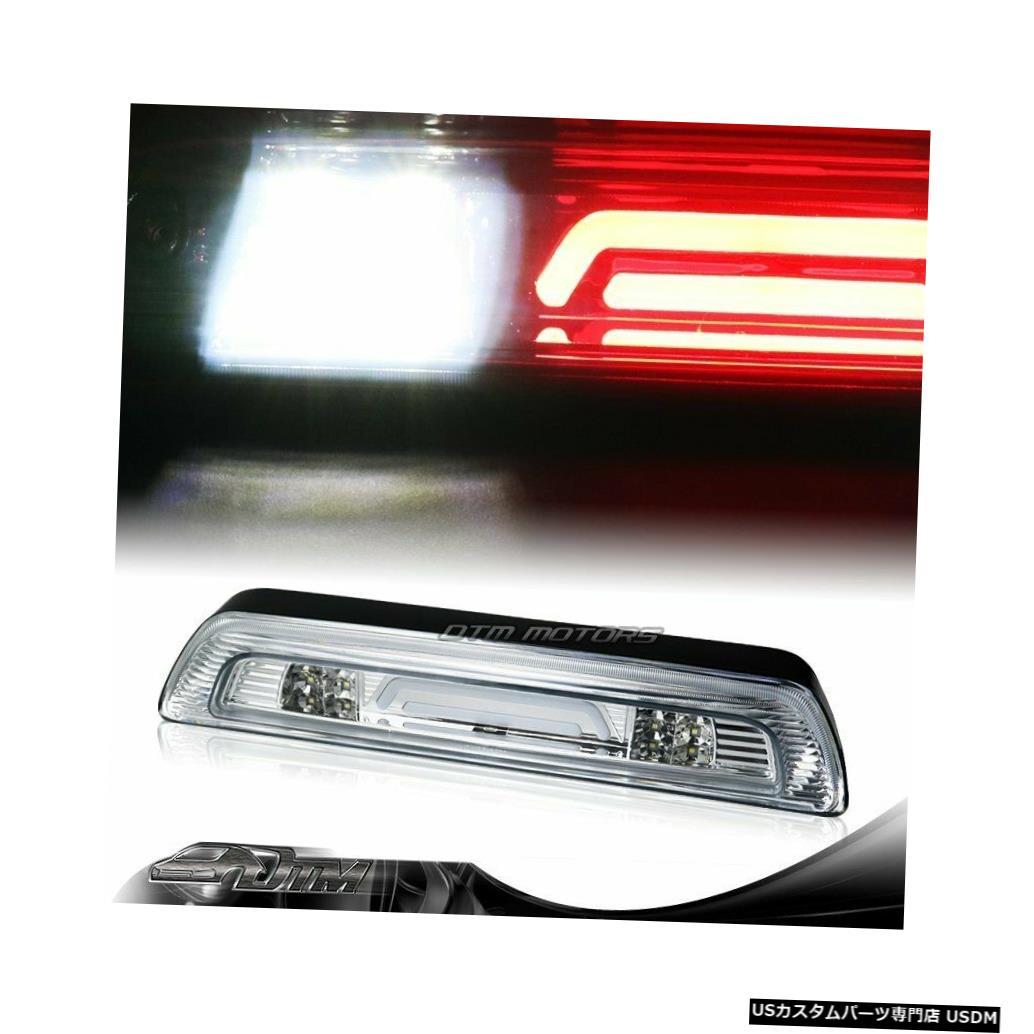 Tail light 07-18トヨタタンドラクロームLEDバー3RDサードブレーキストップライトW /カーゴランプ用 For 07-18 Toyota Tundra Chrome LED BAR 3RD Third Brake Stop Light W/Cargo Lamp